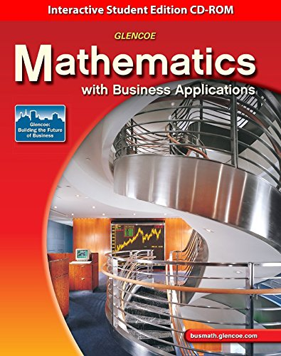 9780078748059: Math with Business Applications Interactive Student Edition CD-ROM