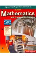 9780078748066: Mathematics with Business Applications: Algebra Test Preparation and Practice (LANGE: HS BUSINESS MATH)