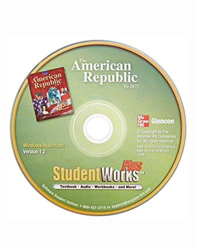 9780078749148: The American Republic to 1877, StudentWorks Plus CD-ROM