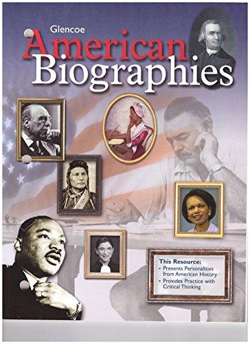 9780078749490: American Biographies
