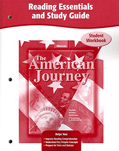 9780078752575: The American Journey, Reading Essentials and Study Guide, Workbook