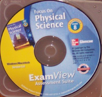 9780078754012: Exam View Assessment Suite Grade 8 (Focus on Physical Science)