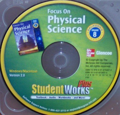 9780078754074: Student Works Plus Grade 8 (Focus on Physical Science)