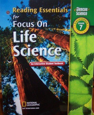 9780078754692: Reading Essentials for Focus on Life Science Grade 7 (California: Student Edition)