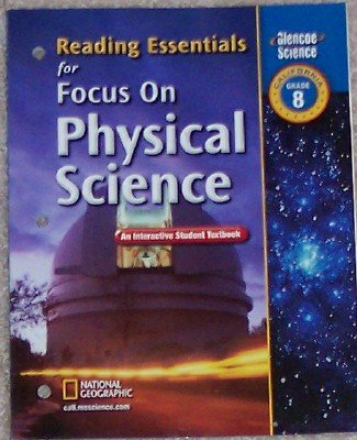 9780078754708: Reading Essentials for Focus on Physical Science Grade 8 (An Interactive Student Textbook)
