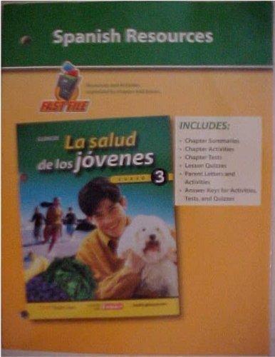 9780078755866: Spanish Resources Glencoe Teen Health La Salud de los Jovenes Course 3