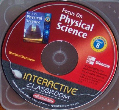 9780078757341: California Focus on Physical Science Grade 8 Interactive Classroom (With Image Bank)
