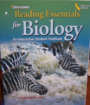 9780078759765: Reading Essentials for Biology: An Interactive Student Textbook (California Edition)