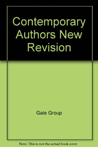 9780078763939: Contemporary Authors New Revision
