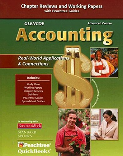 9780078766831: Glencoe Accounting: Advanced Course, Working Papers, Student Edition (GUERRIERI: HS ACCTG)