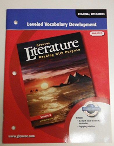 9780078768620: Glencoe Literature Leveled Vocabulary Development Course 2 Adapted