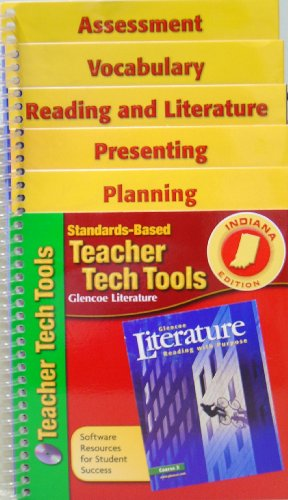 Standards-Based Teacher Tech Tools t/a Glencoe Literature: Reading with Purpose, Course 3 (...