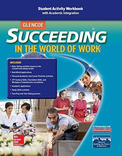 9780078771682: Succeeding in the World of Work Student Activity Workbook (SUCCEEDING IN THE WOW)