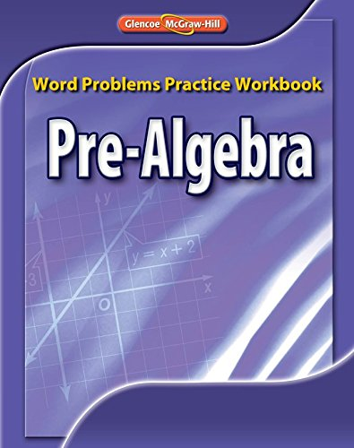 9780078772207: Pre-Algebra, Word Problems Practice Workbook