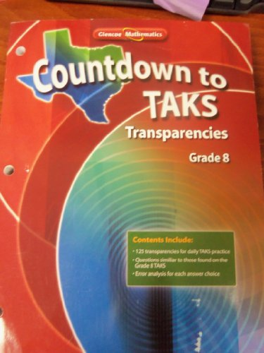 Countdown to Taks Transparencies Grade 8