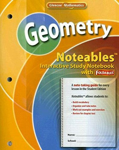 9780078773402: Geometry, Noteables: Interactive Study Notebook with Foldables (MERRILL GEOMETRY)