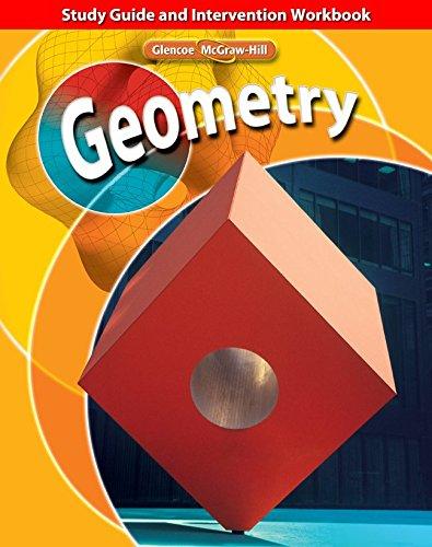9780078773440: Geometry, Study Guide and Intervention Workbook (Glencoe Mathematics)