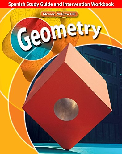 9780078773457: Geometry, Spanish Study Guide and Intervention Workbook
