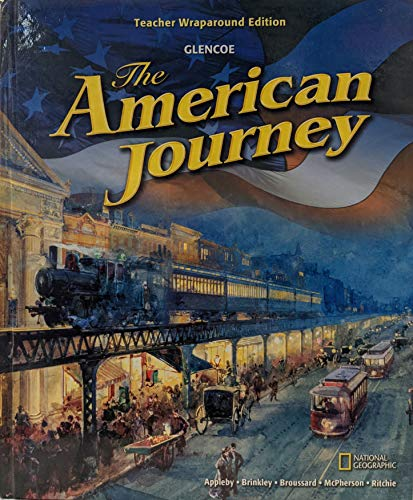 9780078777134: The American Journey: Teacher Wraparound Edition
