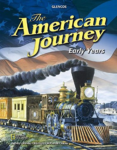9780078777158: The American Journey Early Years, Student Edition