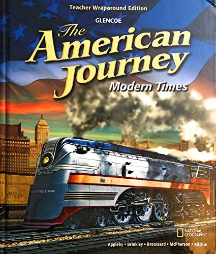 9780078777196: The American Journey: Modern Times, Teacher Wraparound Edition