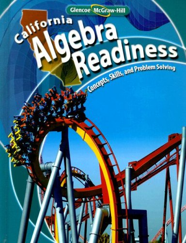 9780078777370: California Algebra Readiness: Concepts, Skills, and Problem Solving