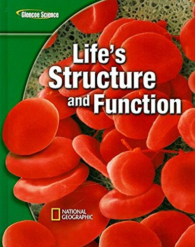 9780078778124: Glencoe Life iScience Modules: Life's Structure and Function, Student Edition (GLEN SCI: LIFE'S STRUC & FUN)