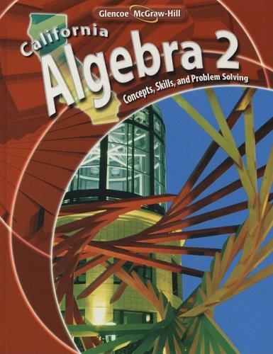 9780078778568: California Algebra 2: Concepts, Skills, and Problem Solving