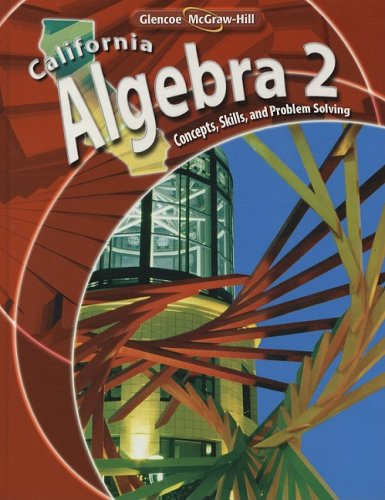 9780078778568: California Algebra 2: Concepts, Skills, and Problem Solving