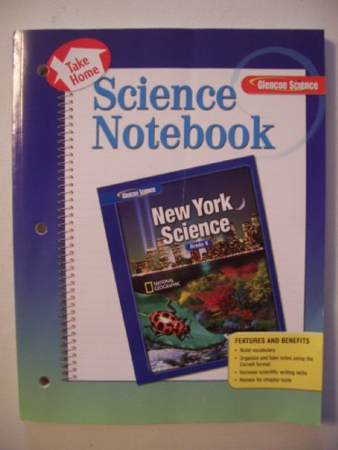 9780078778858: New York Science Notebook (Glencoe Science, Grade 8)