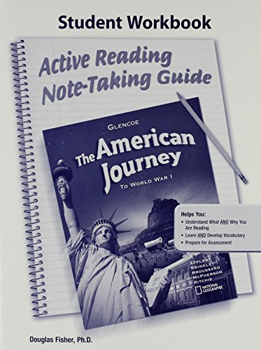 9780078779220: The American Journey to World War I: Active Reading Note-Taking Guide