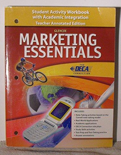 9780078780394: Glencoe Marketing Essentials Teacher Annotated Edition