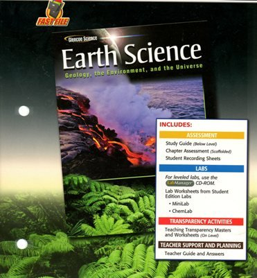 9780078781223: Earth Science: Geology, the Environment, and the Universe, Teacher Classroom Resources