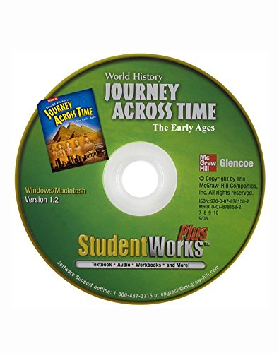 9780078781506: Journey Across Time, Early Ages, StudentWorks Plus DVD