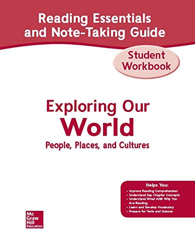 9780078781704: Exploring Our World, Western Hemisphere with Europe & Russia, Reading Essentials and Note-Taking Guide Workbook