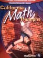 9780078782183: California Math Triumphs, Volume 4: The Core Processes of Mathematics (TEACHER WRAPAROUND EDITION)