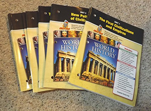 9780078782213: Glencoe World History Teacher Resource Set