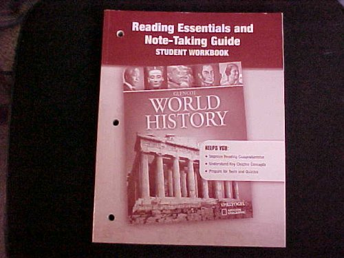 9780078782374: Reading Essentials and Note-Taking Guide Student Workbook (Glencoe World History)