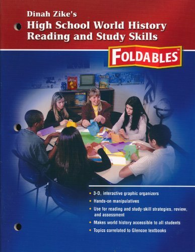 9780078782435: Dinah Zike's High School World History Reading and Study Skills, Foldables