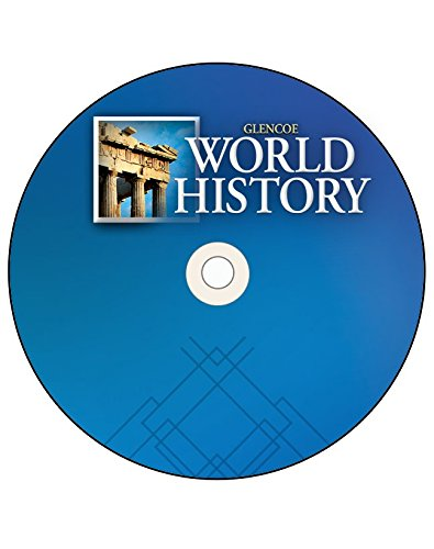 9780078782459: Glencoe World History, StudentWorks Plus DVD