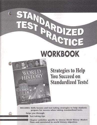 9780078782619: Glencoe World History: Modern Times, Standardized Test Practice Workbook, Student Edition