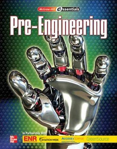9780078783364: Pre-Engineering (Mcgraw-hill Essentials)