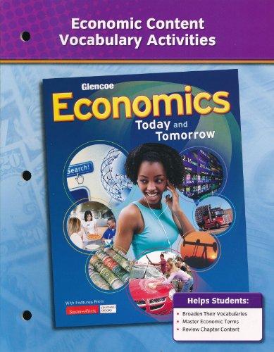 9780078783425: Glencoe Economics, Today and Tomorrow (Glencoe Economics, Today and Tomorrow)