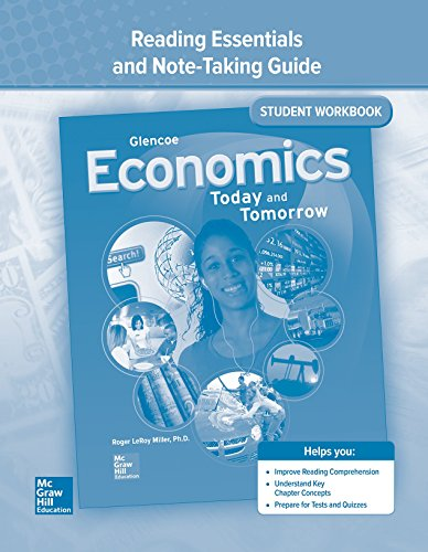 9780078783517: Economics: Today and Tomorrow,  Reading Essentials and Note-Taking Guide