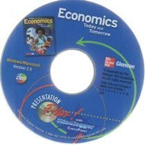 9780078783609: DVD 2008 Glencoe Economics Today and Tomorrow Presentation Plus with Mindjogger Checkpoint DVD