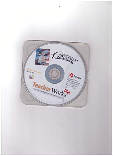 9780078783661: TeacherWorks Plus DVD Version 1.9.2 United States Government Democracy In Action