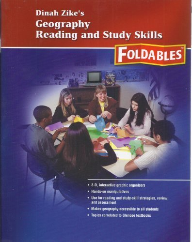 9780078783876: Dinah Zike's Geography Reading and Study Skills Foldables (Glencoe Social Studies)