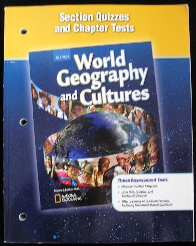 World Geography and Culture Section Quizzes and: Glencoe