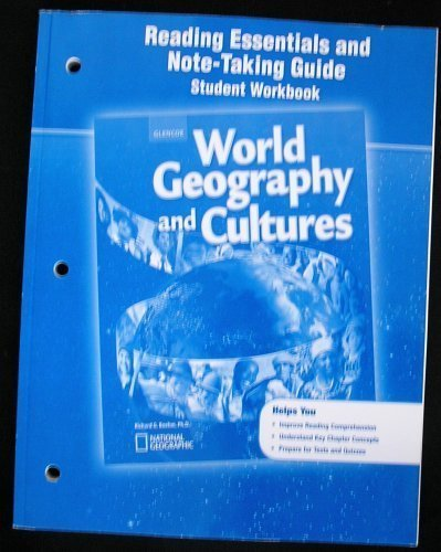 9780078783890: World Geography and Cultures, Reading Essentials and Note-Taking Guide, Student Workbook