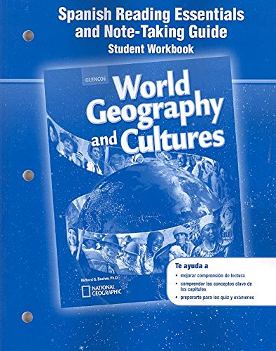 9780078783913: World Geography and Cultures, Spanish Reading Essentials and Note-Taking Guide